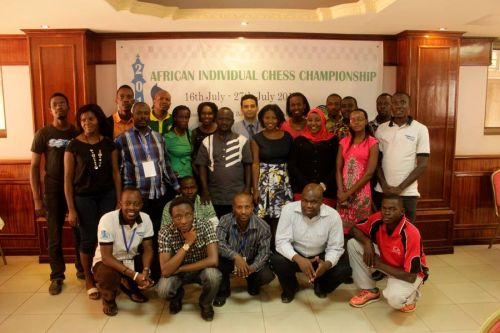 FIDE Arbiters Seminar-Kambala UGANDA 2016