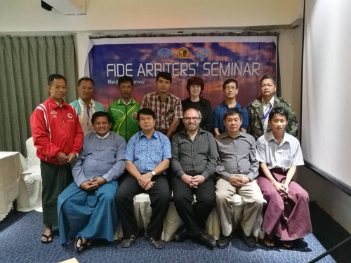 2016 MYANMAR FIDE Arbiters Seminar
