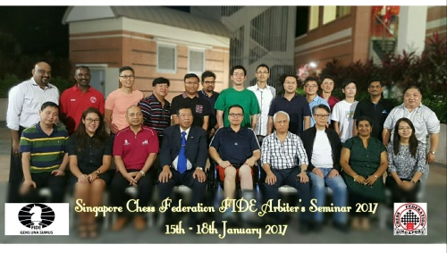 2017 SINGAPORE FIDE Arbiters Seminar