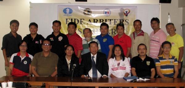 FIDE Arbiters Seminar- Manila PHILIPPINES 2017