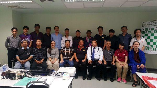FIDE Arbiters Seminar- Bangkok THAILAND 2018