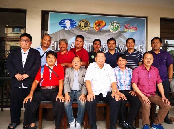 FIDE Arbiters Seminar- Cabuyao PHILIPPINES 1 2018