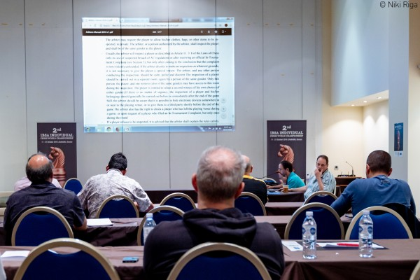 FIDE Arbiters Seminar-Halkidiki GREECE 2018-1