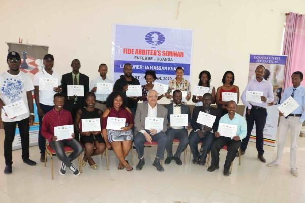 FIDE Arbiters Seminar-Entebbe UGANDA 2019-1