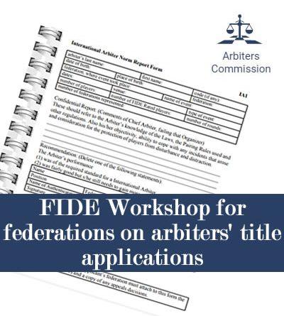 workshop arb title application