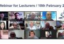 ARB Lecturer Training Programme – 5th Webinar